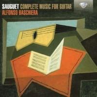 Sauguet Complete Music For Guitar - okładka płyty