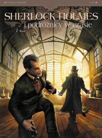 Sherlock Holmes i podróżnicy w - okładka książki