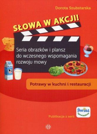 Słowa w akcji. Potrawy w kuchni - okładka podręcznika