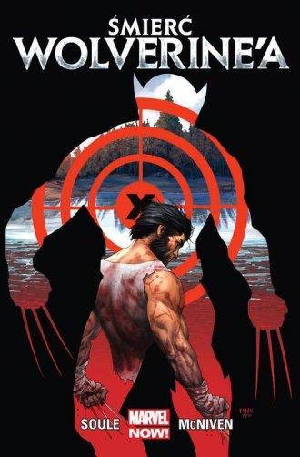 Śmierć Wolverine a - okładka książki