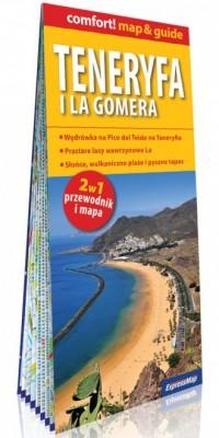 Teneryfa i La Gomera comfort! map&guide. - okładka książki