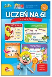 Uczeń na 6! Nauka słówek - okładka książki
