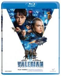 Valerian i miasto tysiąca planet Blu Ray/ Kino Świat - okładka filmu