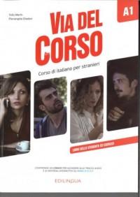 Via del Corso A1. Podręcznik - okładka podręcznika
