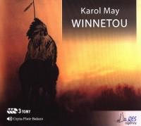 Winnetou - pudełko audiobooku