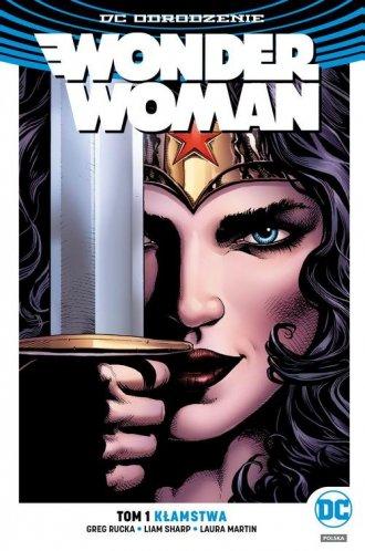 Wonder Woman. Tom 1. Kłamstwa - okładka książki