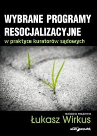 Wybrane problemy resocjalizacyjne - okładka książki