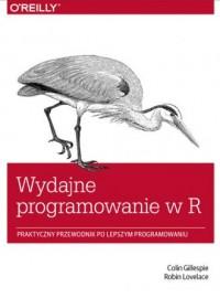 Wydajne programowanie w R. Praktyczny przewodnik po lepszym programowaniu - okładka książki