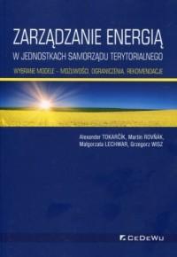 Zarządzanie energią w w jednostkach - okładka książki