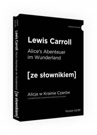 Alicja w Krainie Czarów ze słownikiem - okładka podręcznika