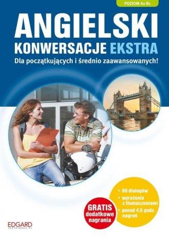 Angielski. Konwersacje dla początkujących - okładka podręcznika