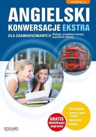 Angielski. Konwersacje dla zaawansowanych - okładka podręcznika