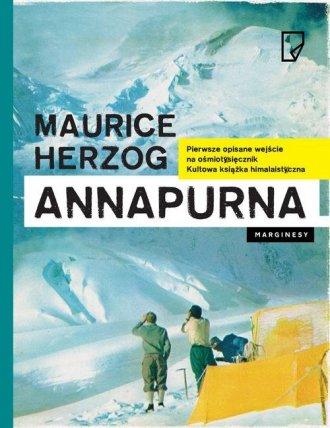 Annapurna - okładka książki