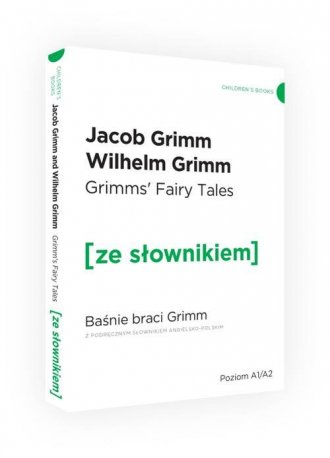Baśnie braci Grimm wersja angielska - okładka podręcznika