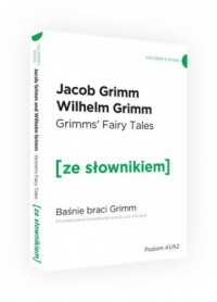 Baśnie braci Grimm wersja angielska z podręcznym słownikiem - okładka podręcznika