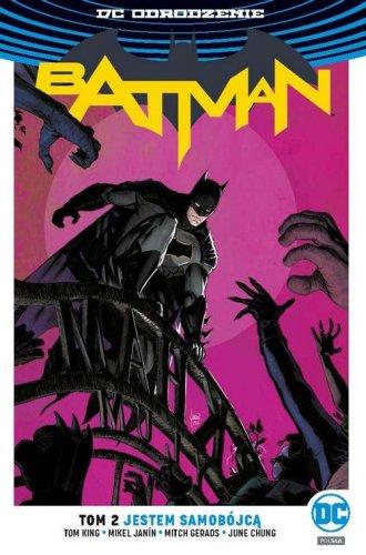 Batman. Tom 2. Jestem samobójcą - okładka książki