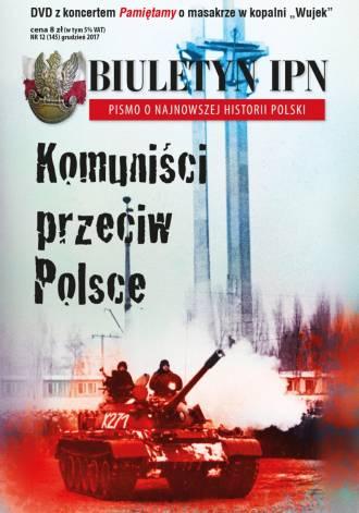 Biuletyn IPN nr 145 (12) / 2017 - okładka książki