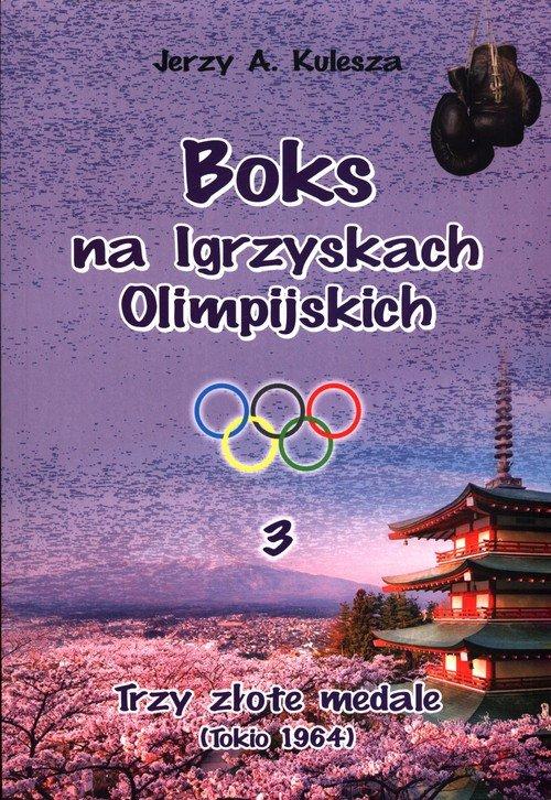 Boks na igrzyskach olimpijskich - okładka książki