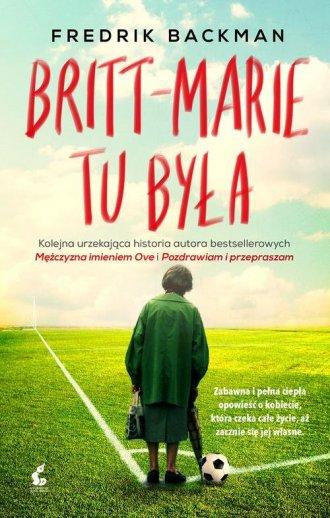 Britt Marie tu była - okładka książki