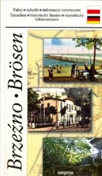 Brzeźno Brösen - okładka książki