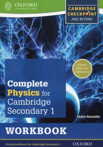 Complete Physics for Cambridge - okładka podręcznika