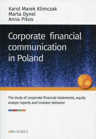 Corporate financial communication - okładka książki