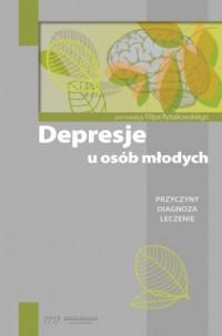Depresje u osób młodych - okładka książki