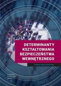 Determinanty kształtowania bezpieczeństwa wewnętrznego - okładka książki