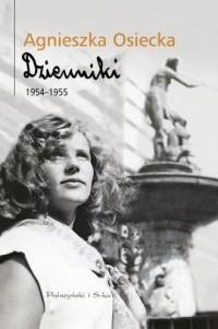 Dzienniki 1954-1955 - okładka książki