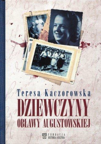 Dziewczyny obławy augustowskiej - okładka książki