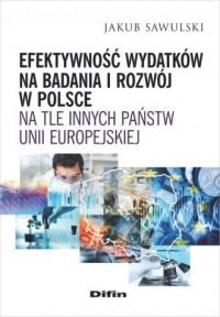 Efektywność wydatków na badania - okładka książki