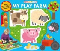 Farm Puzzle Playset - okładka książki