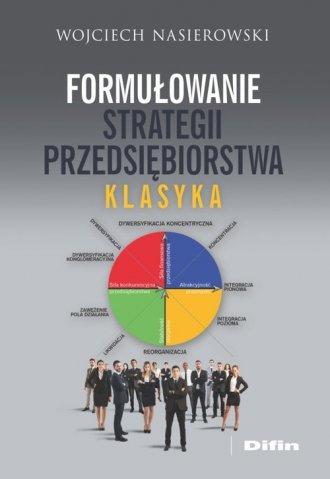 Formułowanie strategii przedsiębiorstwa. - okładka książki