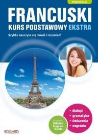 Francuski. Kurs podstawowy ekstra - okładka podręcznika