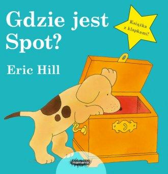 Gdzie jest Spot? - okładka książki