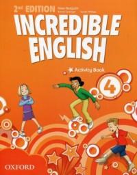 Incredible English 4 Activity Book - okładka podręcznika