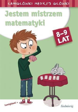 Jestem mistrzem matematyki - okładka podręcznika
