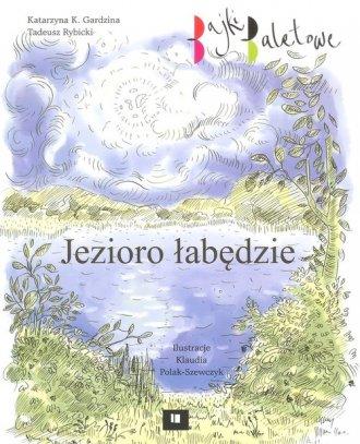 Jezioro łabędzie - okładka książki