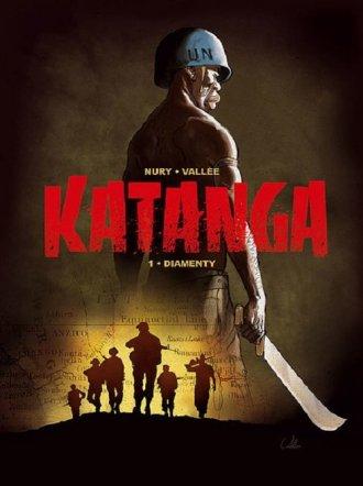 Katanga 1 Diamenty - okładka książki