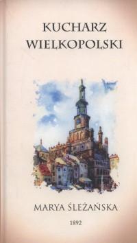 Kucharz wielkopolski - okładka książki