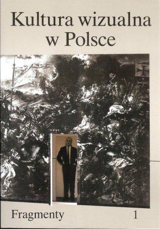 Kultura wizualna w Polsce. Tom - okładka książki