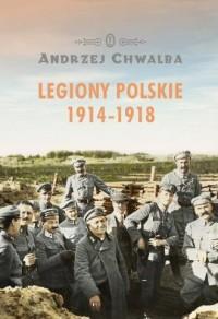 Legiony polskie 1914-1918 - okładka książki