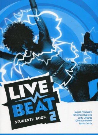 Live Beat 2 Students Book - okładka podręcznika