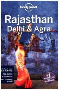 Lonely Planet Rajasthan Delhi & Agra - okładka książki
