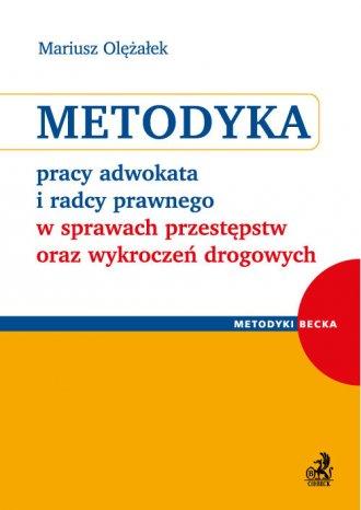 Metodyka pracy adwokata i radcy - okładka książki