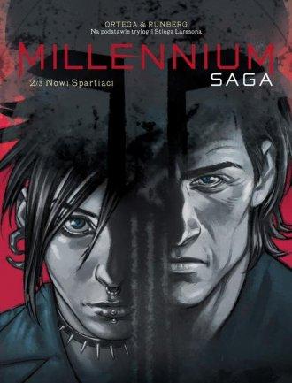 Millenium Saga. Tom 2. Nowi spartiaci - okładka książki