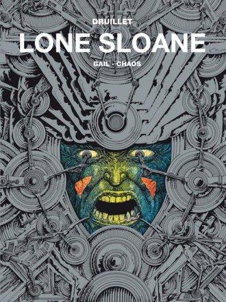 Mistrzowie komiksu Lone Sloane. - okładka książki