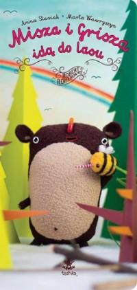 Misza i Grisza idą do lasu - okładka książki
