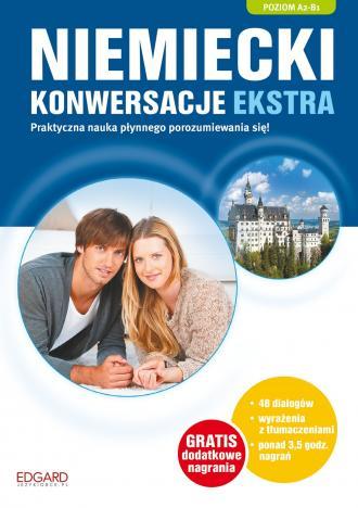 Niemiecki konwersacje ekstra - okładka podręcznika