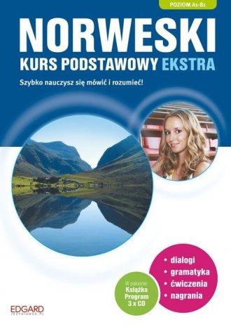 Norweski. Kurs podstawowy ekstra - okładka podręcznika